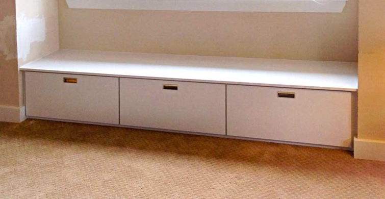 Window Seat With Drawers Michael Rosen Special Millwork